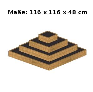 hochbeet fr hbeet pflanzpyramide holz ebay. Black Bedroom Furniture Sets. Home Design Ideas